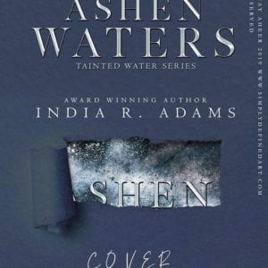 Ashen Waters Sneak Peak Cover by India R Adams
