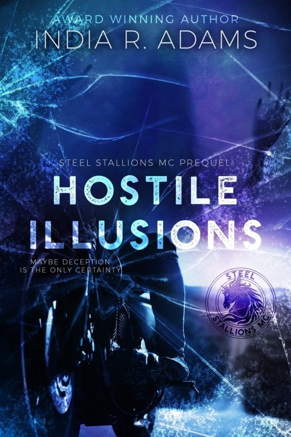 Hostile Illusions by India R Adams cover