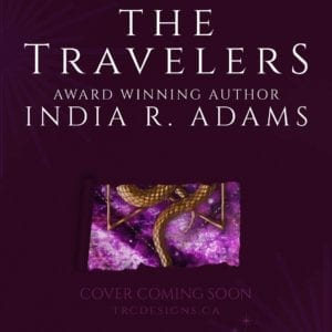 Travelers book cover by India R Adams